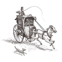 1_48500_120, Horse & Carriage -