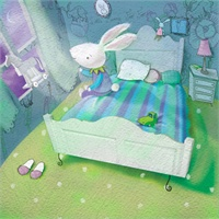 33_90134_1017, Bunny in Bed -