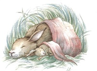 33_90136_1009, Sleeping Rabbits -