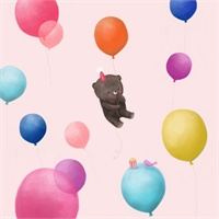 33_90431_1038, bear and balloons! -