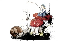 33_90579_1003, Girl on Toadstool -