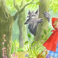 34_90205_1005, Little Red Riding Hood -