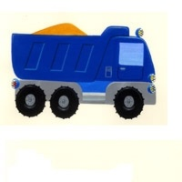 4_28100_011, Truck, digger, car and tractor -